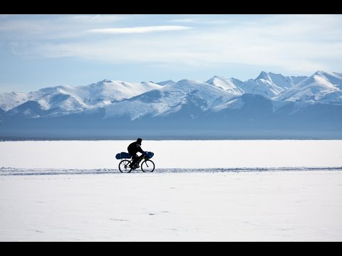 WINTER SIBERIA 2014 Across Baikal Lake by bike
