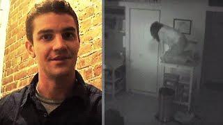 Парень установил в комнате камеру, увиденное заставило его съехать из этого дома