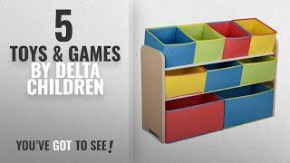 Top 10 Delta Children Toys & Games [2018]: Delta Children Multi-Color Deluxe Toy Organizer with