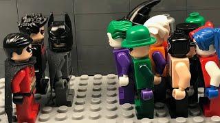 Lego Batman vs The Villains