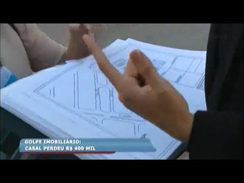 3ad63274cc4 Casal perde 400 mil reais em golpe imobiliário - YouTube