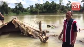 El Nino unearths pre-war shipwreck in Sungai Pahang