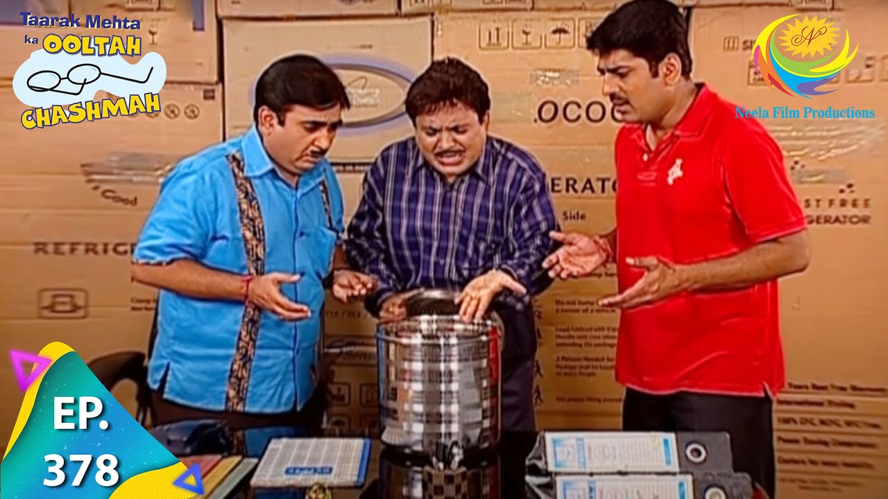 Download Taarak Mehta Ka Ooltah Chashmah - Episode 378 - Full Episode