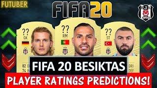 FIFA 20   BESIKTAS PLAYER RATINGS!! FT. QUARESMA, KARIUS, YILMAZ ETC... (FIFA 20 RATINGS)