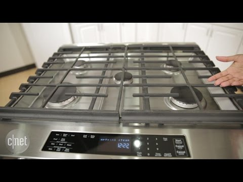 kitchen aid stoves tiffany lighting good looks don t come cheap with this kitchenaid range youtube