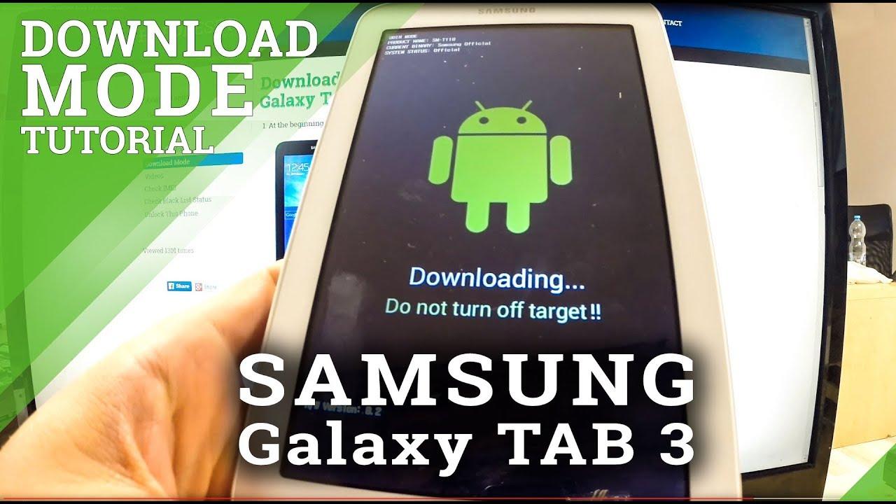 Download Mode SAMSUNG T585 Galaxy Tab A 10 1