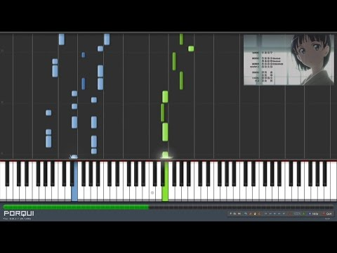 Sword Art Online Opening 2 - INNOCENCE (Synthesia)