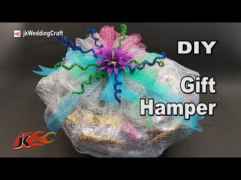 How To Make Gift Baskets : How To Organize Decorations in a Gift Basket147