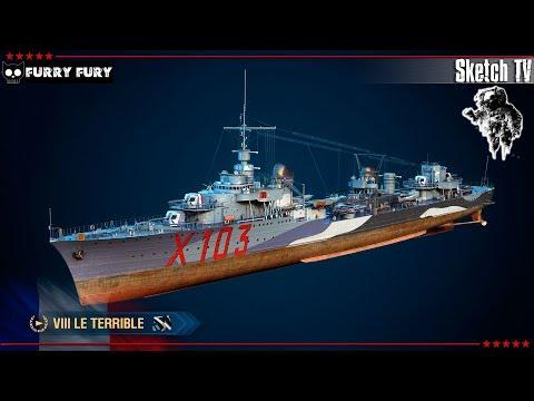 ⚓ ЧЕЛЛЕНДЖ - LE TERRIBLE 🐸 World Of Warships. Sketch TV