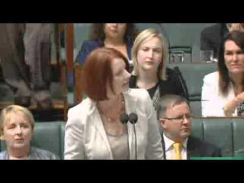 Gillard Resumes Coalition Immigration Attack
