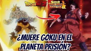 ¿Muere Goku en el Planeta Prisión? -  Super Dragon Ball Heroes
