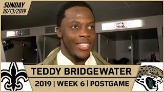Teddy Bridgewater Praises Defense in Week 6 Win Over Jaguars | New Orleans Saints Football