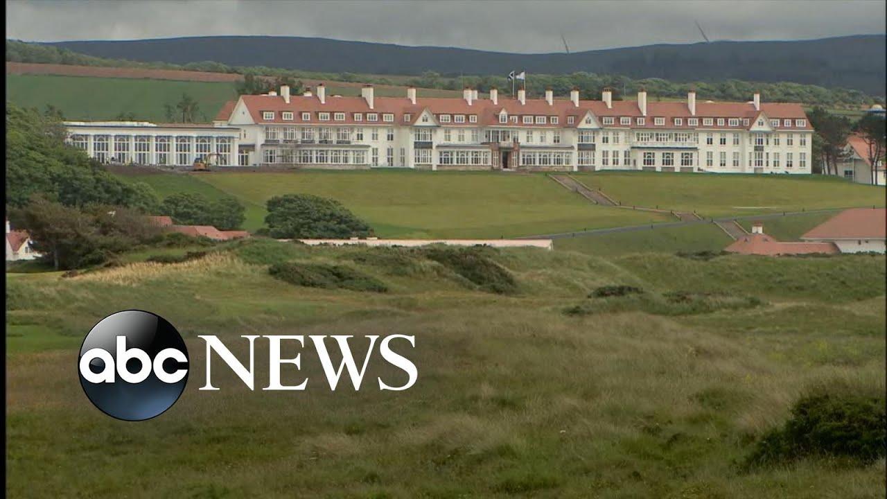 Trump faces criticism for possible involvement in British Open   WNT – ABC News