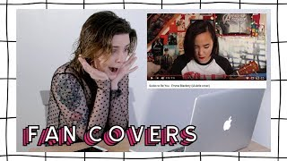 Watching Fan Covers Of My Songs! | Emma Blackery