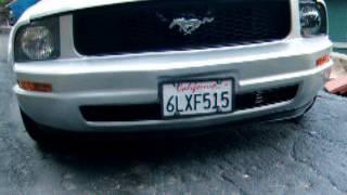 Mustang Convertible 2008 84k m 12k price