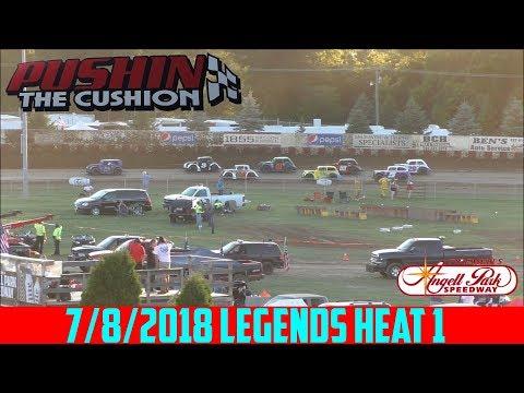Angell Park Speedway - 7/8/2018 - Legends - Heat 1