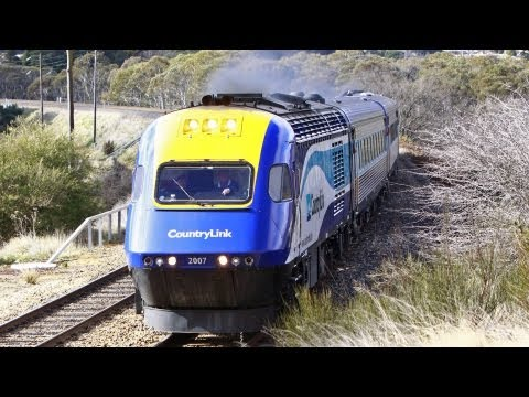 Freight, Coal & XPT at Lithgow - Australian Trains, New South Wales