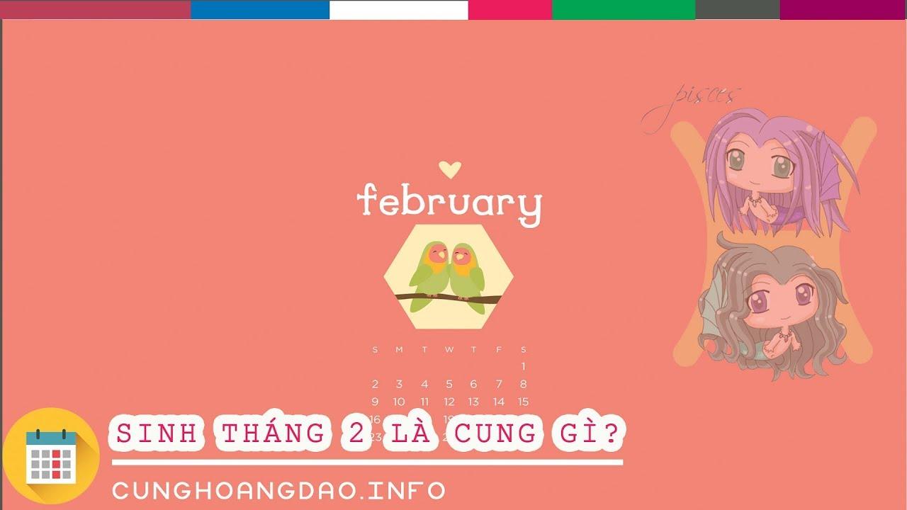 Sinh tháng 2 là cung hoàng đạo gì? | Cunghoangdao.info