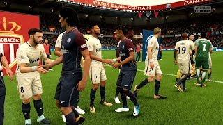 FIFA 18 | PSG vs AS Monaco - Parc des Princes (Full Gameplay)