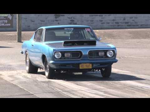 67 Plymouth Barracuda At Atco Dragway...