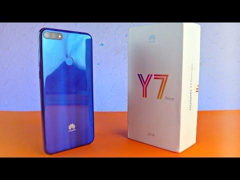 "Huawei Y7 Prime (2018) ""SHINY AF"" - UNBOXING!"