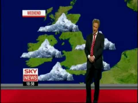 Rory Bremner as Francis Wilson - Sky News Weather