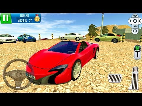 Parking Island Mountain Road #4 - Sport Car Game Android gameplay
