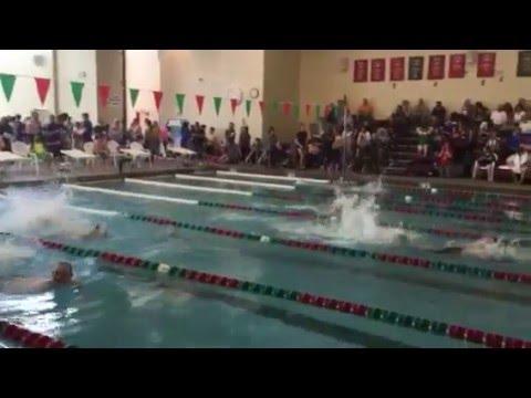 Mile High Aquatics Meet at Smoky Hill High School