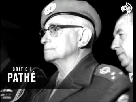 Canadian Troops Arrive In Cyprus For UN Duty (1964)
