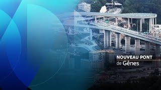 En Italie, Gênes inaugure un nouveau pont