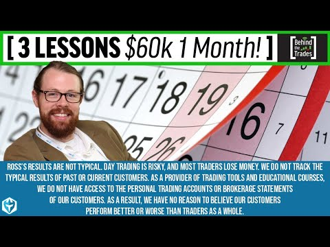 3 Lessons I Learned Making $60k in 1 Month : Behind The Trad