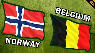 Norway vs Belgium - Military Power Comparison 2017