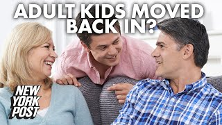 How boomers should deal with adult kids moving back in | New York Post