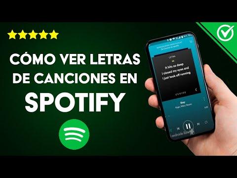 Cómo ver las Letras de las Canciones de Spotify en Android, iPhone o PC Mientras las Escucho