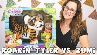 Roarin' Tyler FurReal Friends | The Playful Tiger | Amy Jo Toy Review