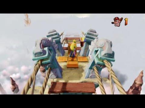 Crash Bandicoot N. Sane Trilogy flying hog