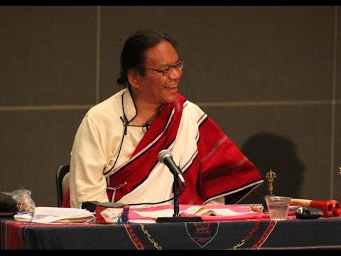 Ngakpa Karma Lhundup Rinpoche gives talk on Tibetan Buddhism - June 3, 2016