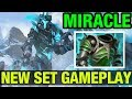 NEW SET GAMEPLAY!! - MIRACLE- DRAGON KNIGHT - Dota 2