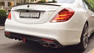 Фото 900HP Brabus Rocket V12 And 850 Biturbo Start And Driving Sound