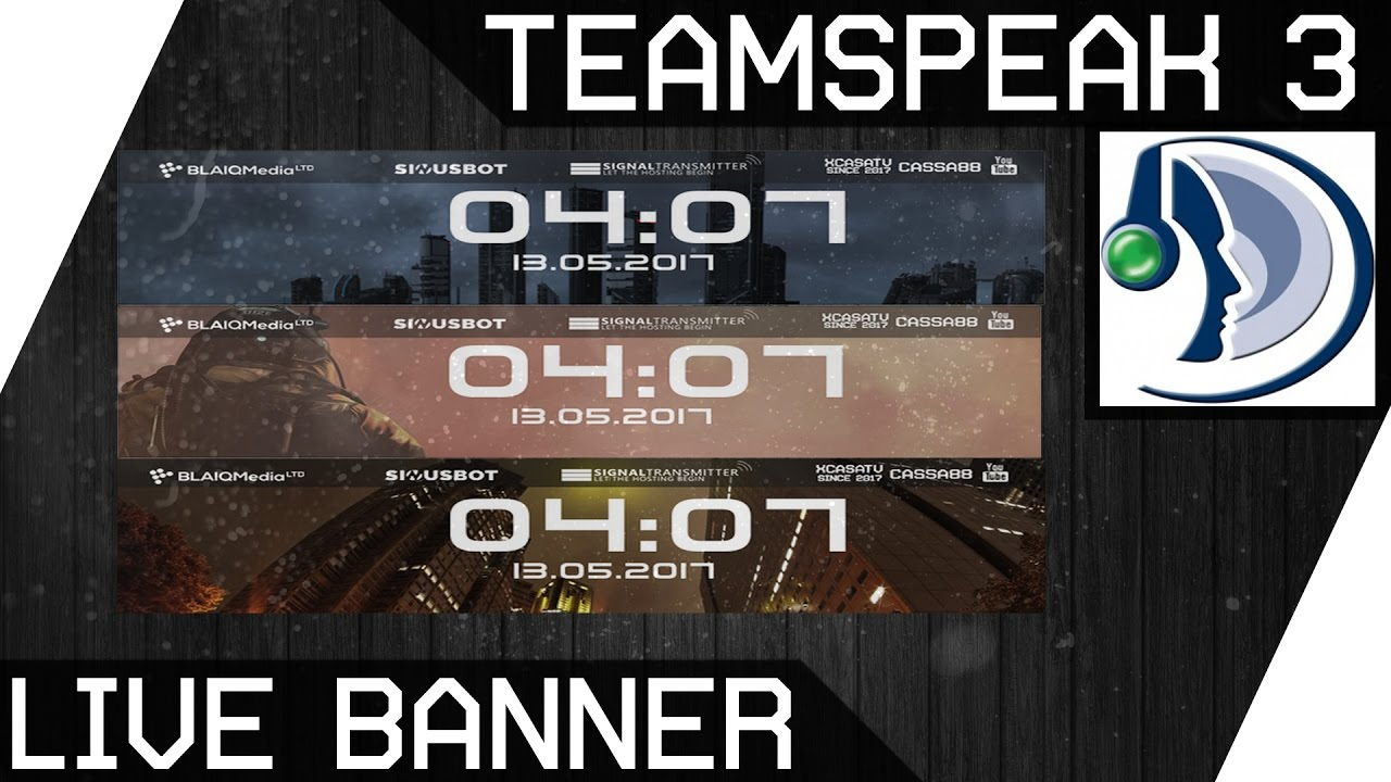 how to change the banner in teamspeak
