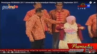Fatin shidqia lubis Kenakan Jas UMM - live Universitas Muhammadiyah Malang