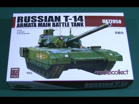 Modelcollect T-14 Armata scale model