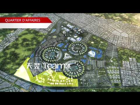 "3D Animation for "" the Republic of Togo""  Urban planning"