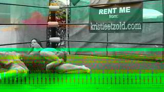 Kristie Etzold Wrestling her Uncle Andy 05-SEPT-12