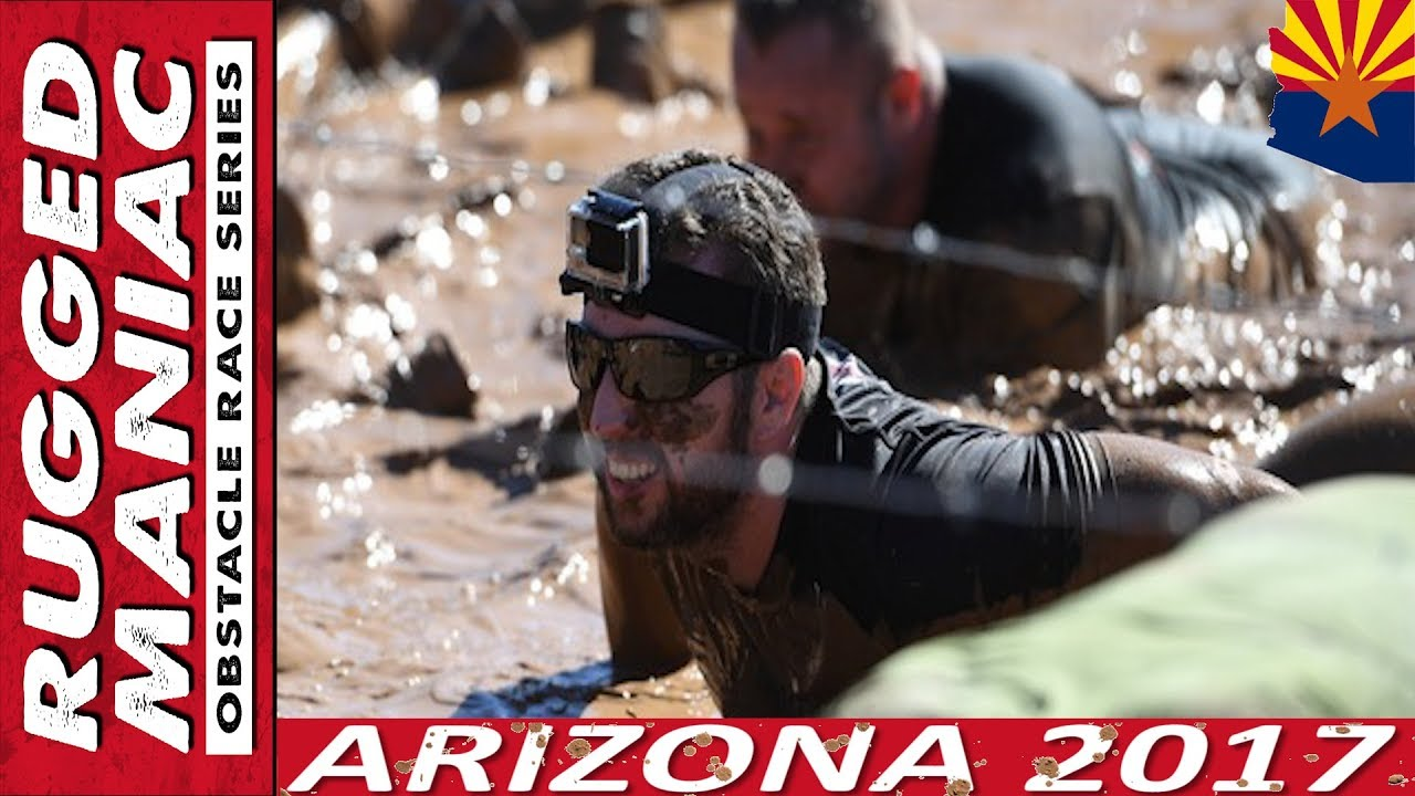Rugged Maniac Arizona 2017