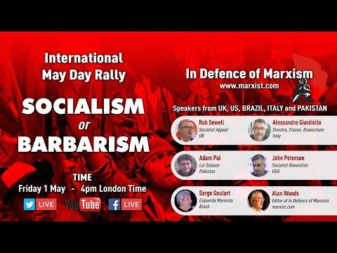 International May Day Rally: socialism or barbarism