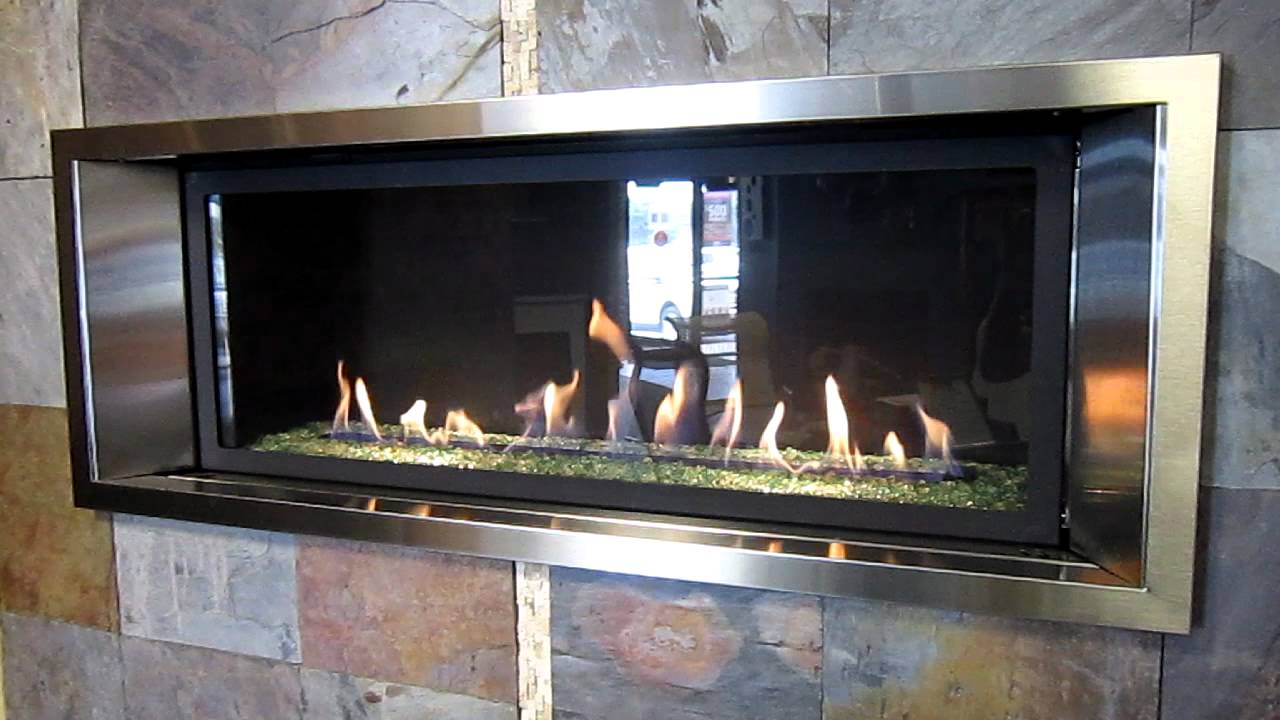 marquis infinite gas fireplace youtube