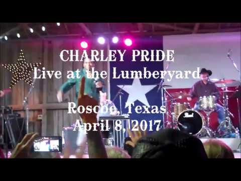 Charley Pride live at the Lumberyard