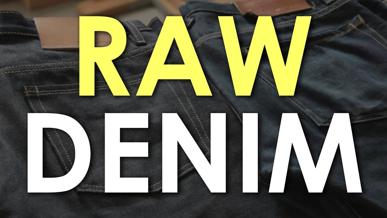 fca218cd Raw and Selvedge Denim for Beginners | The Art of Manliness