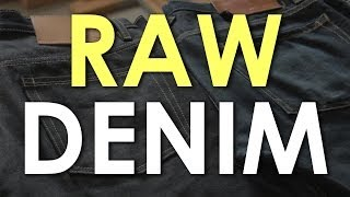 RAW DENIM: An Introduction to Raw Denim | The Art of Manliness